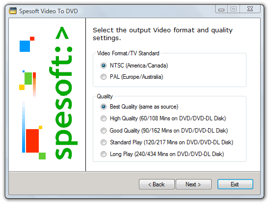 Spesoft Free Video To DVD Converter
